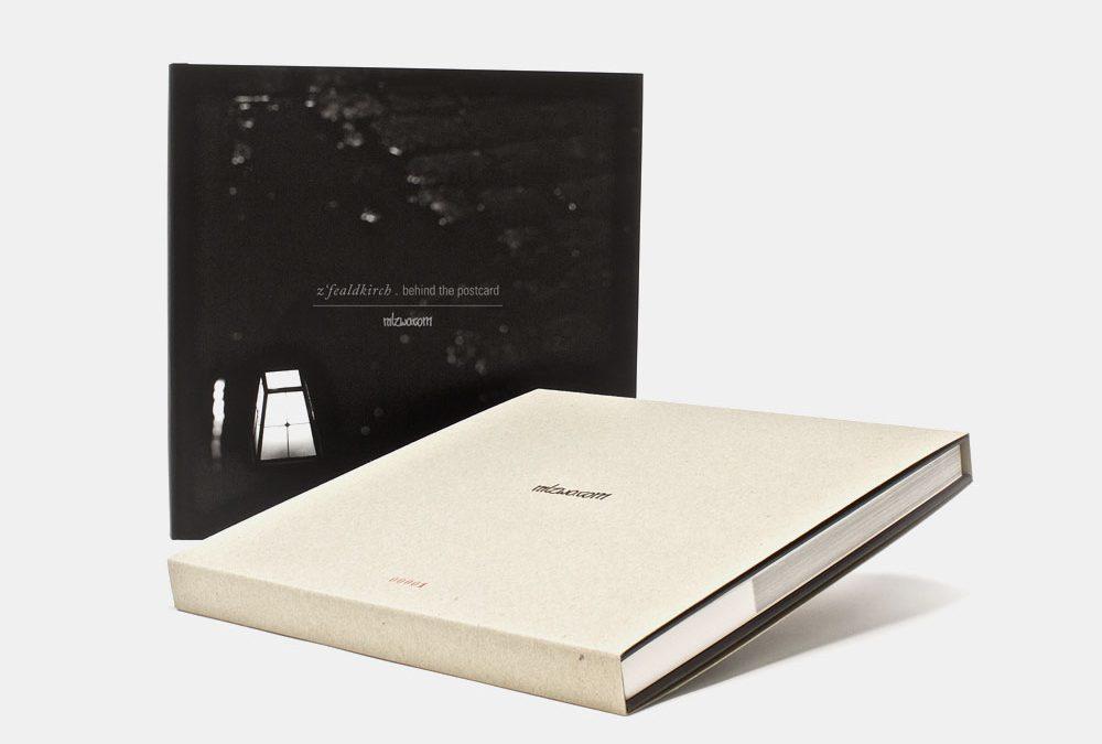 z´fealdkirch . behind the postcard Buchpremiere